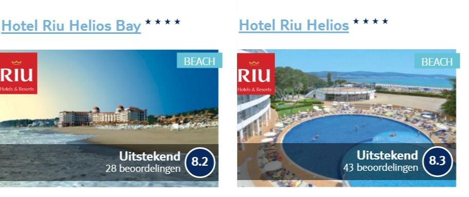 riu hotels bulgarije